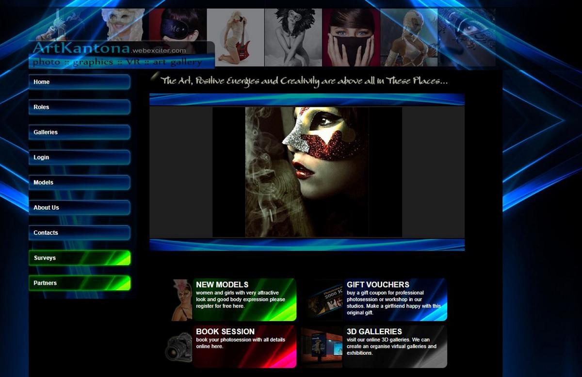 Art Kantona Website